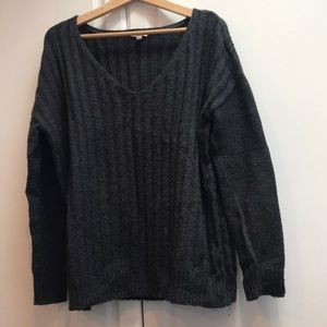 charcoal grey gap sweater (m)